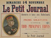 Vintage french WW1 poster - Le Petit Journal